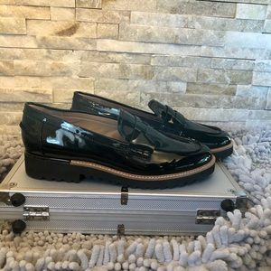 Franco Sarto Sz9 Patent Leather Loafers